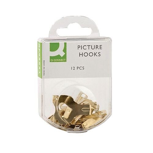 Q Connect Picture Hooks Pack 12