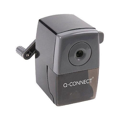 Q-Connect Desktop Pencil Sharpener Black KF02291