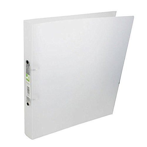 Q-Connect 2 Ring Frosted Clear A4 Binder KF02487