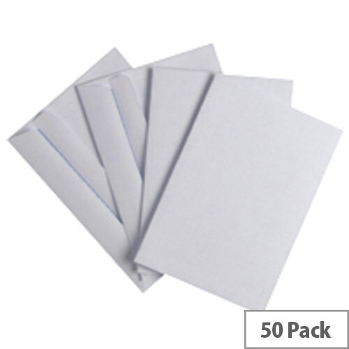 Q-Connect Envelope White C6 (Pack of 50)