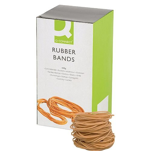 Q-Connect Rubber Bands 500g Number 24