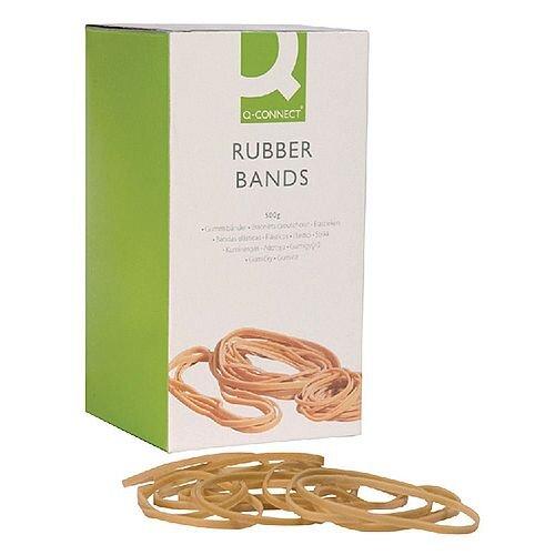 Q-Connect Rubber Bands 500g No 63