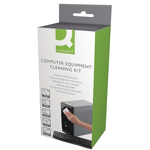 Q-Connect Equipment Cleaning Kit Pack of 1 AECK000QCA