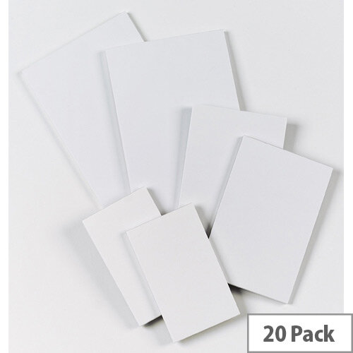 Scribble Pad Q-Connect Pack of 20