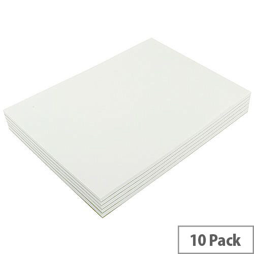 Q-Connect Memo Pad A4 80 Leaf Plain Pack of 10