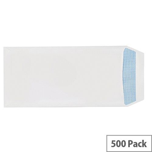 Q-Connect Pocket DL Envelopes 100gsm Self Seal White (Pack of 500) 8027