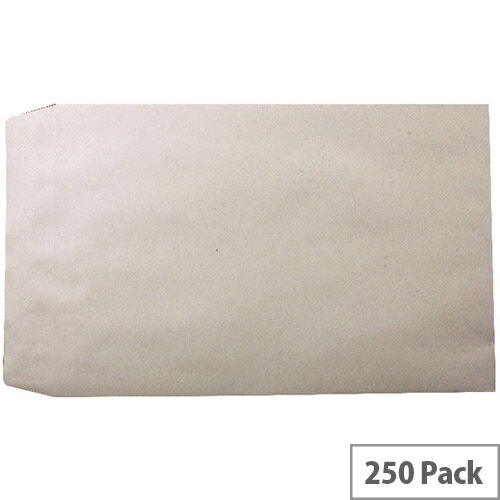 Q-Connect Manilla Pocket Envelopes 381x254mm 115gsm Self Seal Pack of 250