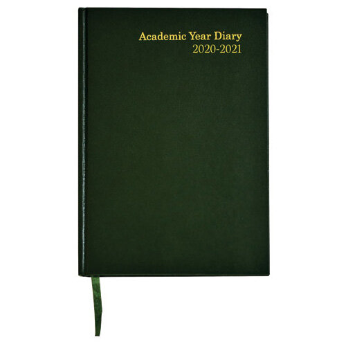 Academic Diary Week to View A5 Green 2020-21 KF3A5AGN21