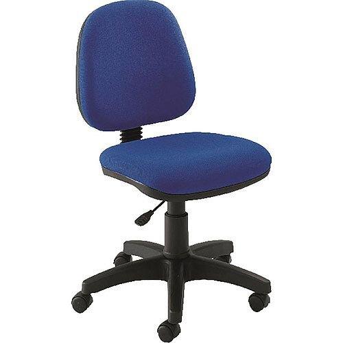 Jemini Medium Back Task Operators Office Chair Blue