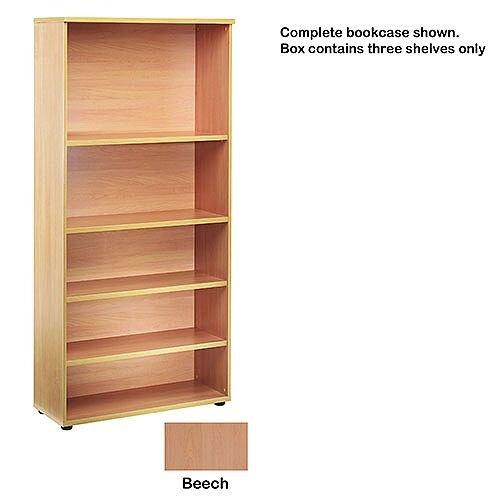 Jemini Open Storage Shelf Beech KF73683