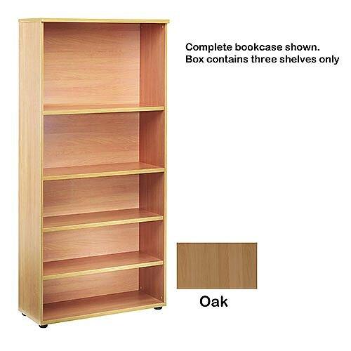 Jemini Open Storage Shelf Oak KF73699