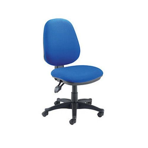 Jemini Plus High Back Task Operator Office Chair Blue Ch1800