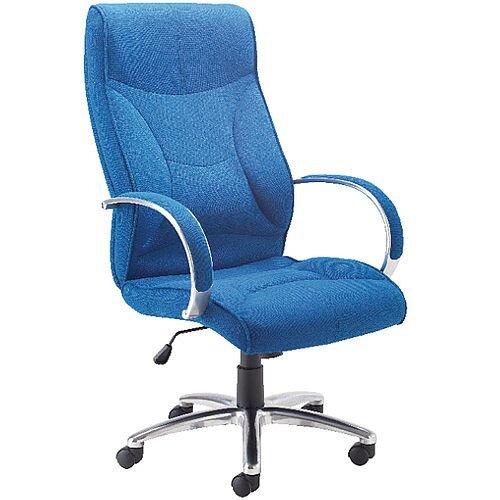 Avior High Back Executive Office Chair Blue KF74188
