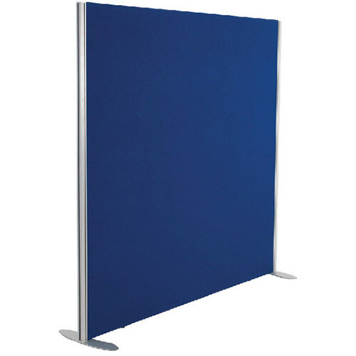 Jemini Floor Standing Screen Including Feet 1800 x 1200 Blue KF74338