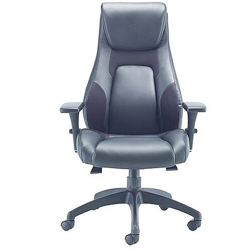 Avior Veloce Leather Look Managers Task Operator Office Chair KF74495