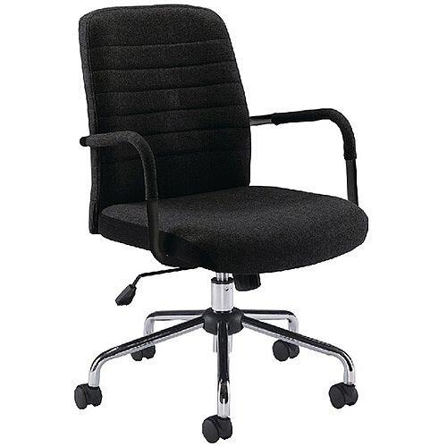 Jemini Soho Black Office Chair KF74823