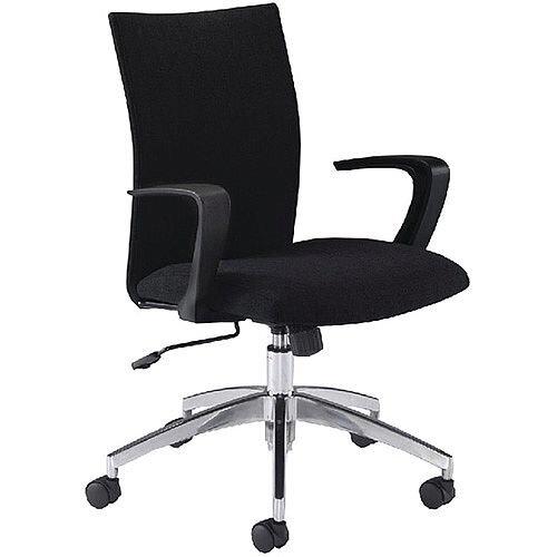 Arista Soho Black Office Chair Kf74824 Hunt Office Ireland