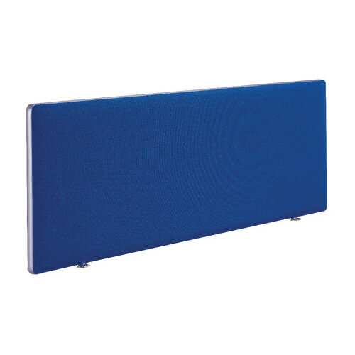 First Desk Mounted Office Desk Screen H400 x W1600 Special Blue KF74840