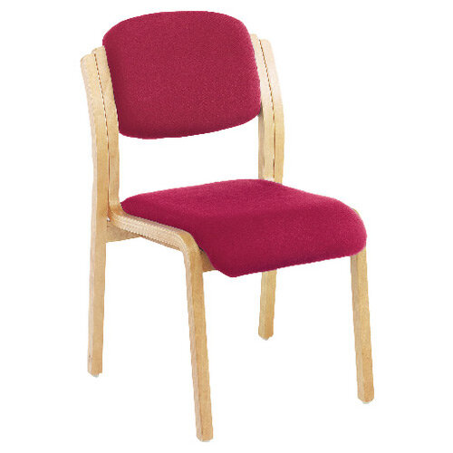 First Wood Side Chair Claret KF74898