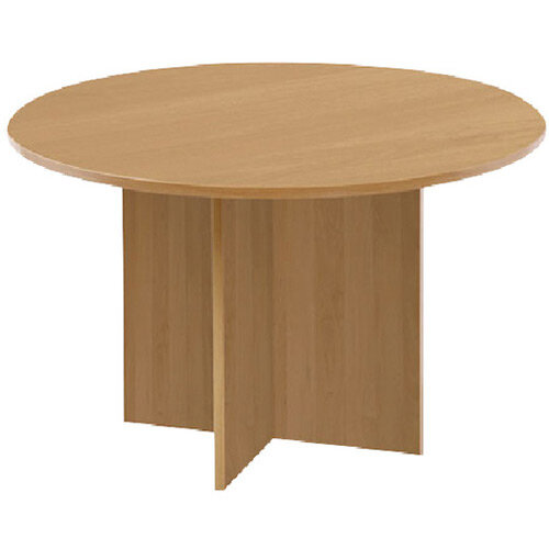 First Round Meeting Table Maple KF74908