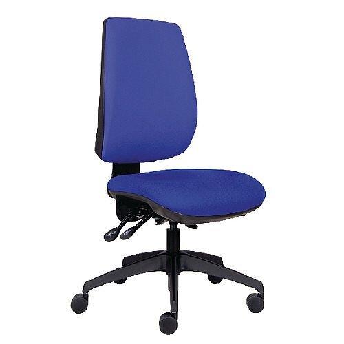 Jemini High Back Task Chair Blue KF74956