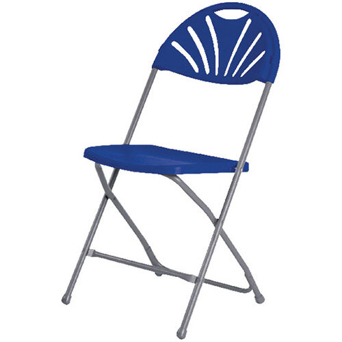 Jemini Folding Chair Blue KF78658