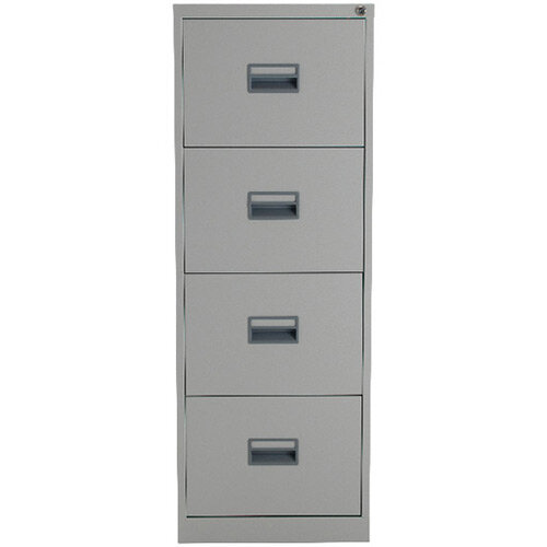 Talos 4 Drawer Steel Filing Cabinet Grey KF78772