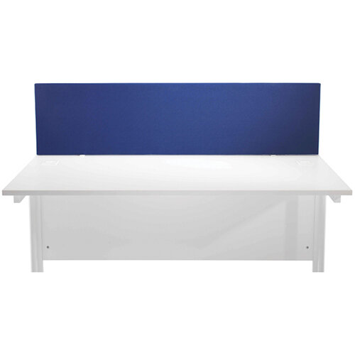 Jemini Blue 1200mm Straight Desk Screen KF78978
