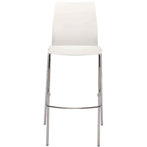 Jemini White Tall Bistro Chair KF79032