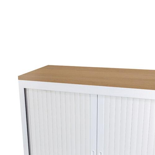 Talos Cupboard Wooden Top Oak W1000 x D450 x H25mm TCS-CUP-TOPOK