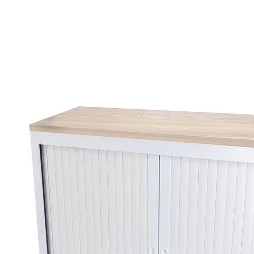 Talos Cupboard Wooden Top Grey Oak W1000 x D450 x H25mm TCS-CUP-TOPGO