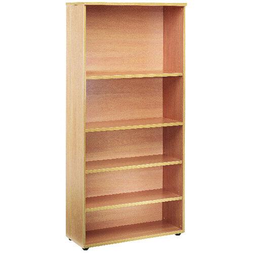 First 1800mm Bookcase 4 Shelf Oak KF839202