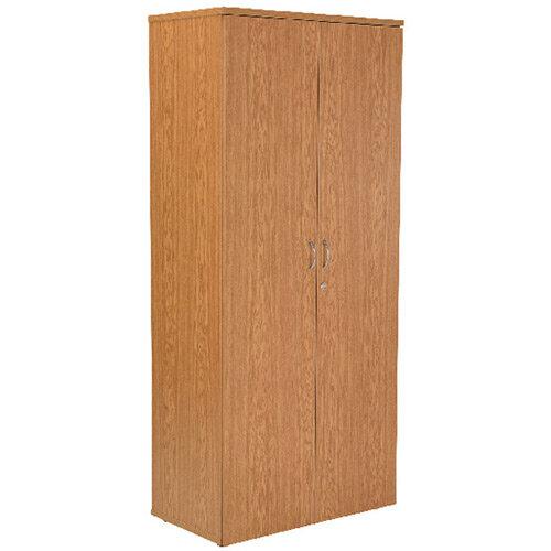 First 1800mm Cupboard 4 Shelf Oak KF839208