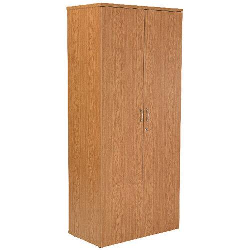 First 2000mm Cupboard 4 Shelf Oak KF839209