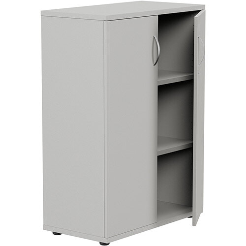 Medium Cupboard with Lockable Doors H1130mm Grey Kito