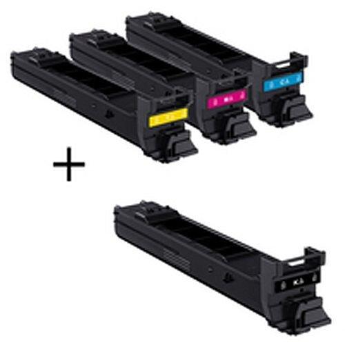 Konica Minolta Magicolor 4650 High Yield Toner Value Kit 8K CMY A0DKJ52