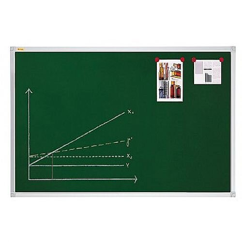Franken ValueLine Magnetic Chalkboard Lacquered Dark Green Surface 600x450mm KR3512