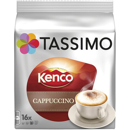 Tassimo Kenco Cappuccino Pods Pack of 40 4041300