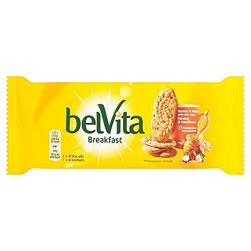Belvita Breakfast Individually Wrapped. 4 Biscuits Per Pack &20 Packs Providing 80 Biscuits. Each Biscuit Bursting With Flavours Of Cereal, Honey &Nuts. Ideal For On The Go Breakfast That Provides Up To 4 Hours Of Energy.