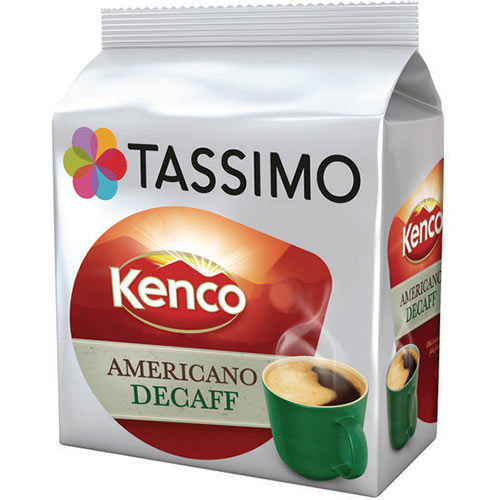 Tassimo Kenco Decaff Americano Pods Pack of 80 4031640