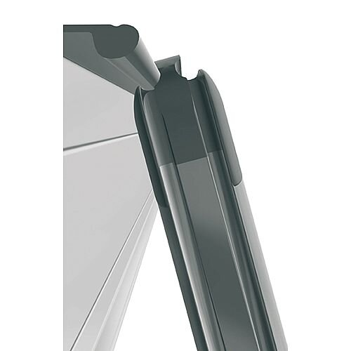 Franken Cork Pin Board PRO Aluminium Frame 900 x 600mm KT8402