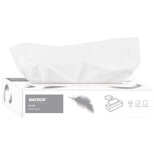 Katrin Plus Facial Tissues 2-Ply 100 Sheets Pack of 40 11797