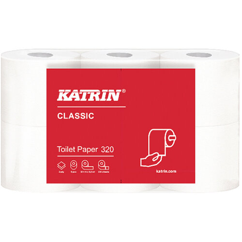Katrin Classic Toilet Rolls Pack of 36 96245