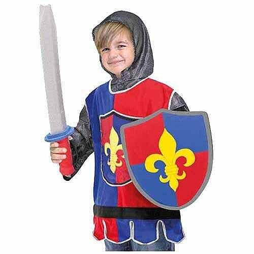 Knight Kids Costume 3-6 Years