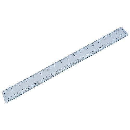 Plastic Shatterproof Ruler 50cm