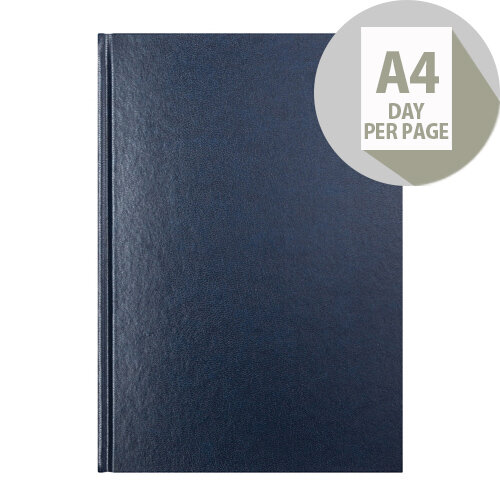 Letts 11Z Blue A4 Day Per Page Diary 2020 20-T11ZBL