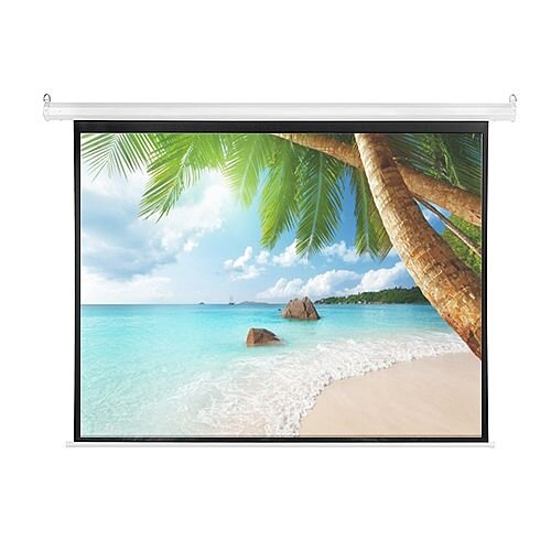 Franken ValueLine Electric Roll-up Projector Screen W2400 x H1800mm