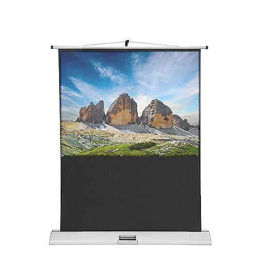 Franken Portable Projection Screen ValueLine W:1200xH:900mm Format 4:3 LWM212