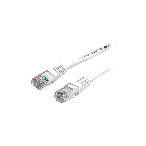 StarTech 3 ft White Molded Cat5e UTP Patch Cable Cat 5e 3 ft 1 x RJ-45 Male 1 x RJ-45 Male White M45PATCH3WH