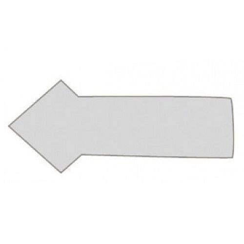 Franken Magnetic Grey Arrow Symbols Pack of 30 M860 12